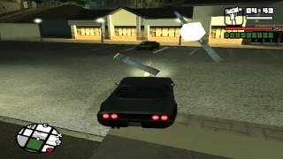 GTA SA Mods #1 - Тачка Джеймса Бонда или Форсаж в Сан Андреасе
