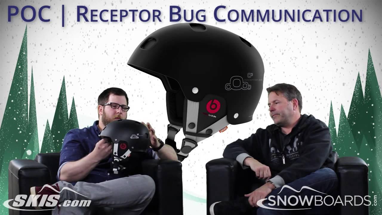 2017 POC Receptor Bug Adjustable Receptor Bug Communication and Sinuse SL Helmet Overview by SkisD