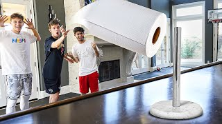 INTENSE Real Life Trickshots With Everyday Objects!