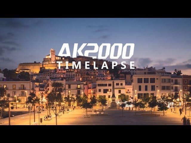 Ibiza Lights - Timelapse | FeiyuTech AK2000