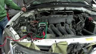 замена клапан -ов VVT-i. Ошибка Р1349, P1349, p1349, 1349, ошибка 59. Двигатель 1 MZ