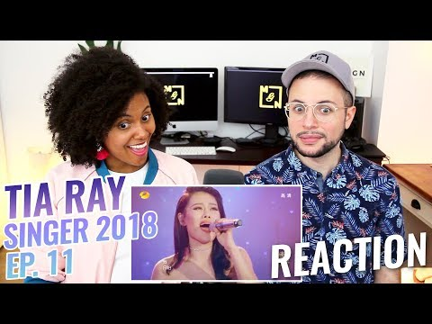 Tia Ray - The Train To Spring / Kiss From A Rose | Episode 11 | Singer 2017 | REACTION