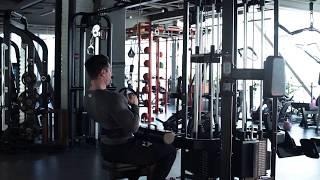 Качаем спину! Вертикальная тяга к груди узким хватом в блоке. Упражнения для тренировки спины.
