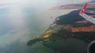 Take Off Lion Air JT 373 Batam to Jakarta