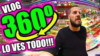 REALIDAD VIRTUAL 360º INSTA 360nano LO VES TODO!!!!! ·VLOG·