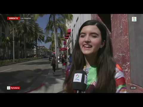 Angelina Jordan Interview On Norwegian TV Before AGT Finale (English Subtitles)
