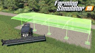 Zadaszenie na kombajny - Farming Simulator 19 | #98