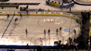 2011 Winter Classic: Pittsburgh Penguins & Washington Capitals Entrance