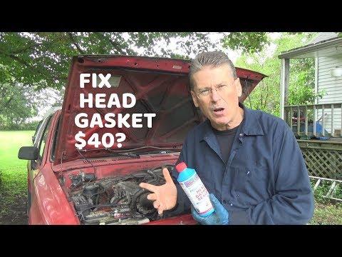 Why I Used $40 Blue Devil Head Gasket Sealer Head Gasket Repair on Engine  with 400,000 miles