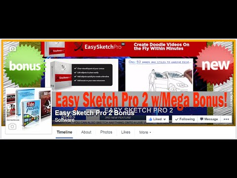 Review Of Easy Sketch Pro 2 | Easy Sketch 2 Review | Easy Ketch Pro 2