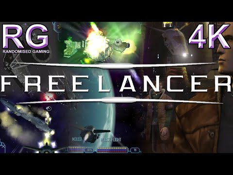 Freelancer - PC - Intro & Over First Hour Of Gameplay With Commentary [UHD 4K60]