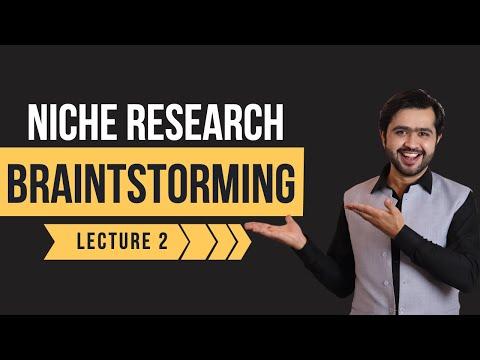 Brainstorming Technique : How To Find A Profitable Niche Market thumbnail
