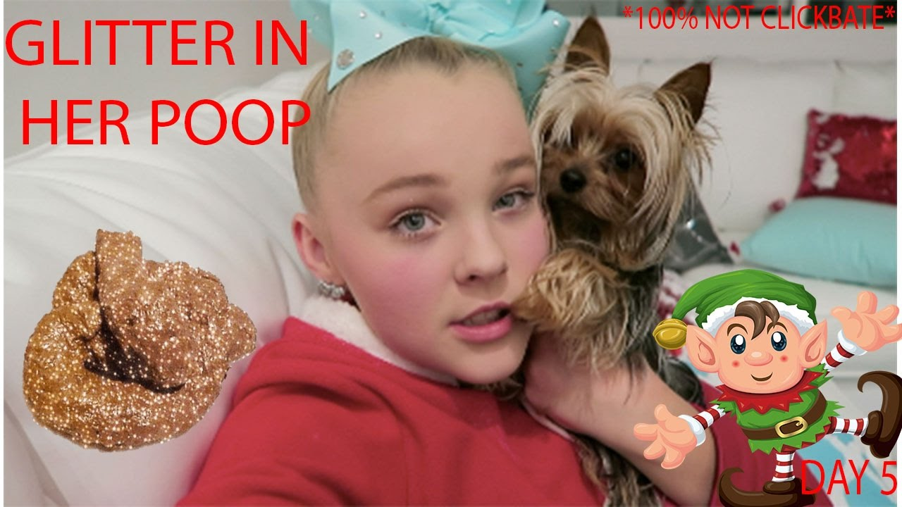 My Dog Pooped Glitter Vlogmas Day 5 Youtube