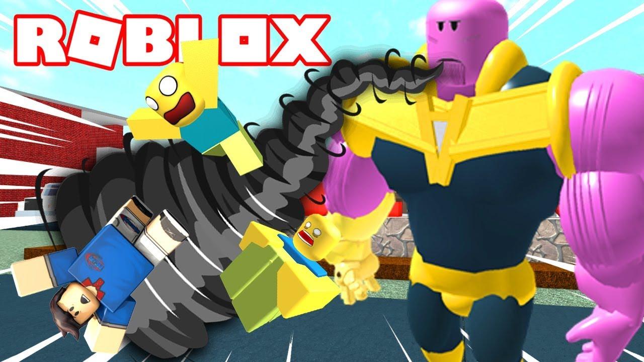 Thanos Al Maximo De Poder Roblox Superhero Siimulator By - nuevo arbusto gigante y pet salvaje roblox pet trainer