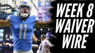 Fantasy Football 2019 Week 8 Waiver Wire (TIMESTAMPS)