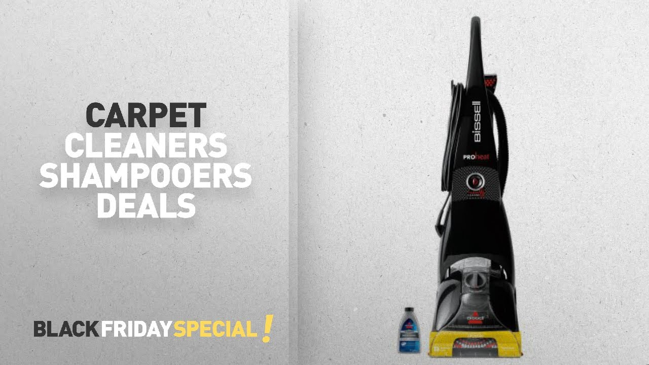 walmart top black friday carpet cleaners shampooers deals bissell proheat advanced full size. Black Bedroom Furniture Sets. Home Design Ideas