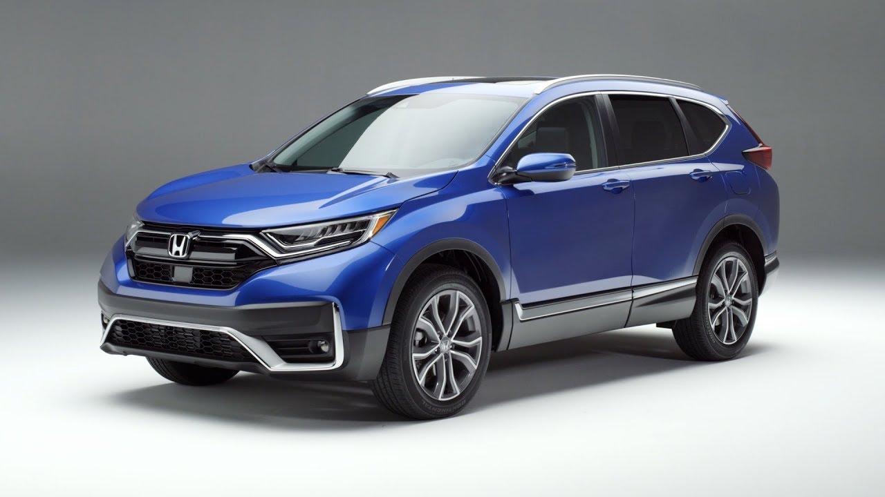 2020 Honda Cr V Touring Exterior And Interior Walkaround Youtube