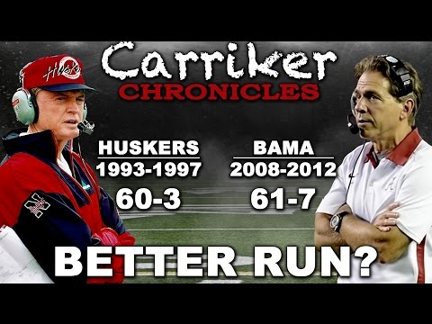 Why 95 Huskers ARE THE GOAT! | Carriker Chronicles Vault 2017.01.11