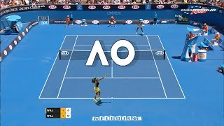 Tennis Elbow 2013 GAMEPLAY - Serena Williams vs Venus Williams - AO 2018