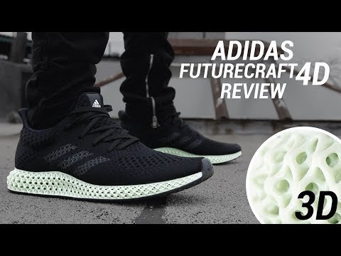 b204e56d ADIDAS FUTURECRAFT 4D REVIEW: THE 3D PRINTED SNEAKER - YouTube