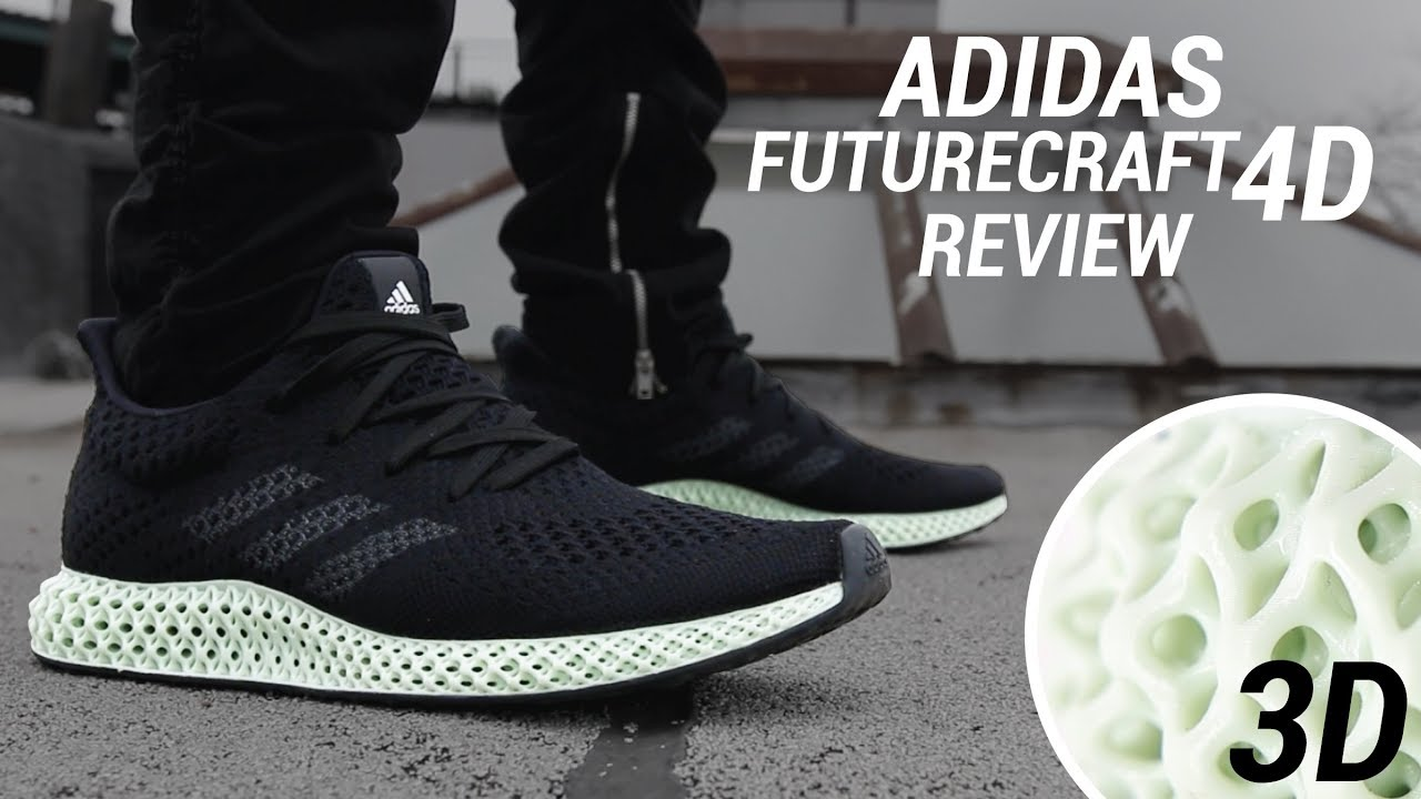 1aecb89cbc82 ADIDAS FUTURECRAFT 4D REVIEW  THE 3D PRINTED SNEAKER - YouTube