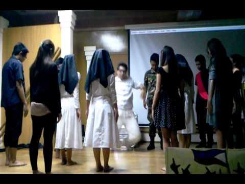 """PHILIPPINE LITERATURE DANCE DRAMA DLSAU BACC-OPEN """"EDSA REVOLUTION"""