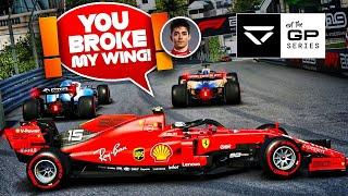 Hilarious Monaco Race with Leclerc & Norris