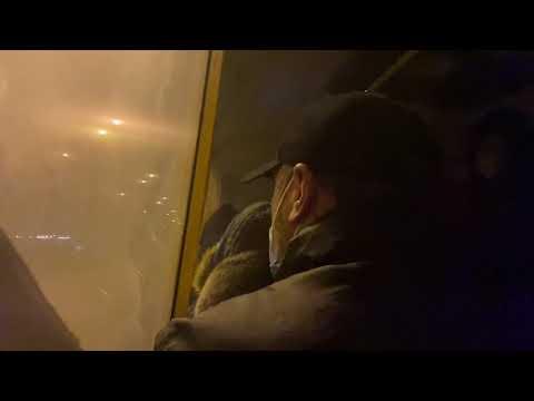 Телеканал Simon: В Харькове задымился автобус с пассажирами