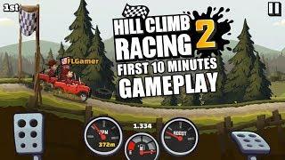 Hill Climb Racing 2 First 10 Minutes Gameplay
