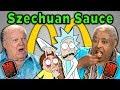 ELDERS REACT AND TRY McDONALD'S SZECHUAN SAUCE (Rick and Morty)