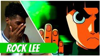 REACT - Rap do Rock Lee (Naruto) - A FORÇA DA MOTIVAÇÃO | NERD HITS ( 7 Minutoz )