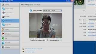 Skype via SplitCam