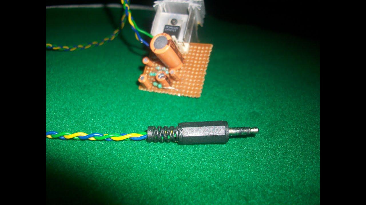 20 Watt Audio Amplifier Using Lm1875 By Harshit Kumar Youtube Listen Better T Use Ic Currentmode Circuit