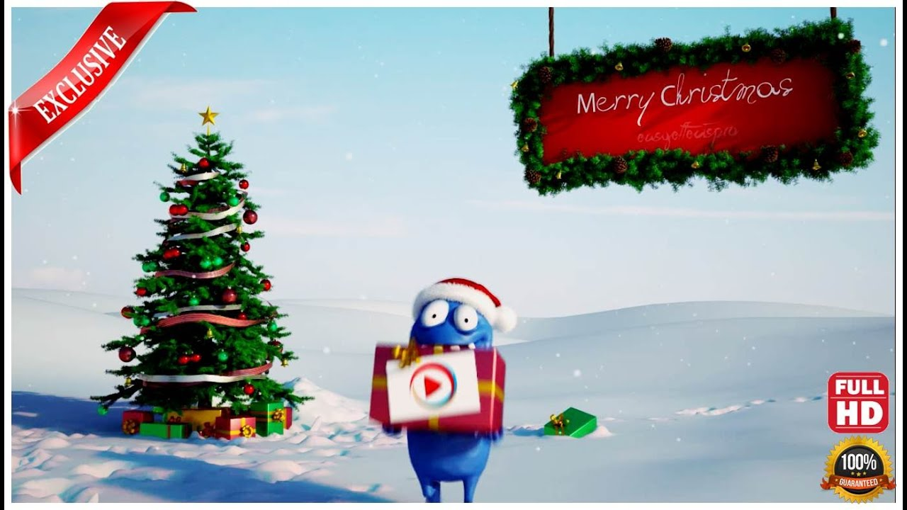 we wish you a merry christmas - Merry christmas Greeting Video ...
