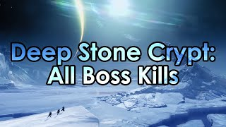 Destiny Beyond Light: All Deep Stone Crypt Boss Kills and Datto's 1st Raid Clear