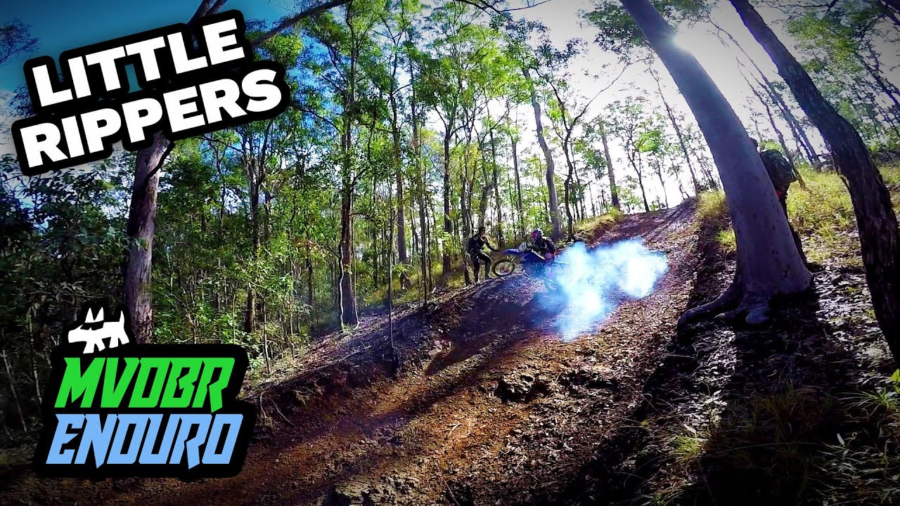 Little Rippers: Michael & Kylie's First Family Ride - YZ85 & KX65