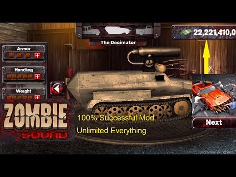 Zombie Squad 1 24 Hack and Mod (Unlimited Everything) 100% successful