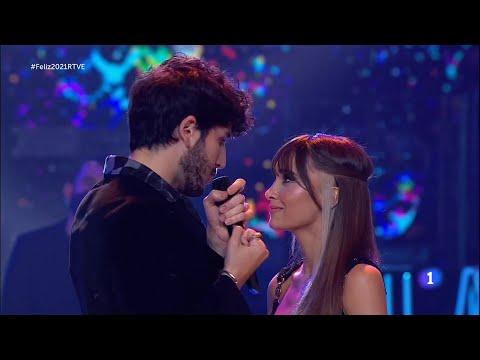 Aitana, Sebastián Yatra ~ Corazón Sin Vida (Especial NocheVieja Fin de Año, tve) (Live) 2020