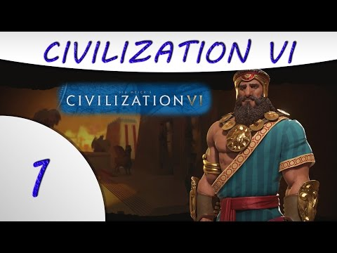 Civilization 6 - Sumeria - Gilgamesh - Part 1