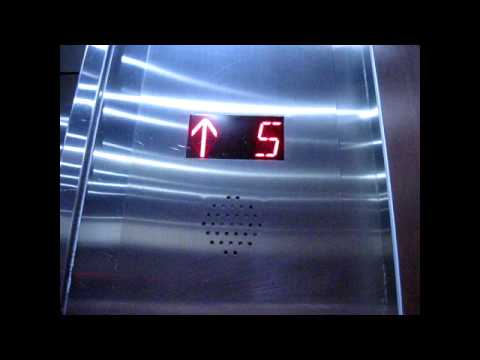 Otis High Speed Elevator at 700 West Pender Street in Downtown Vancouver, British Columbia