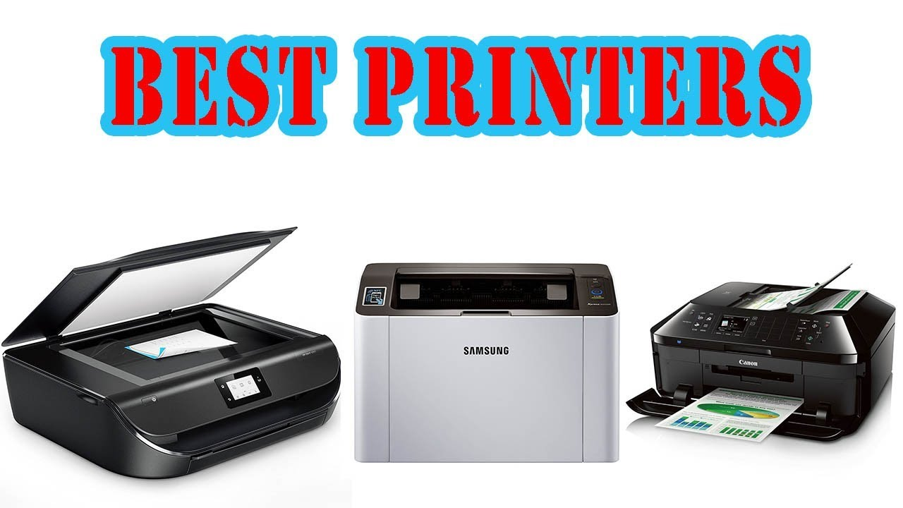 Top 5 Best Printers For Home & Office - YouTube