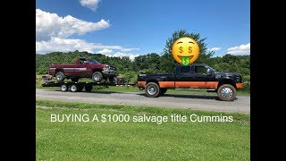 buying-a-salvage-title-1-000-12v-cummins-runs-and-drives-perfect