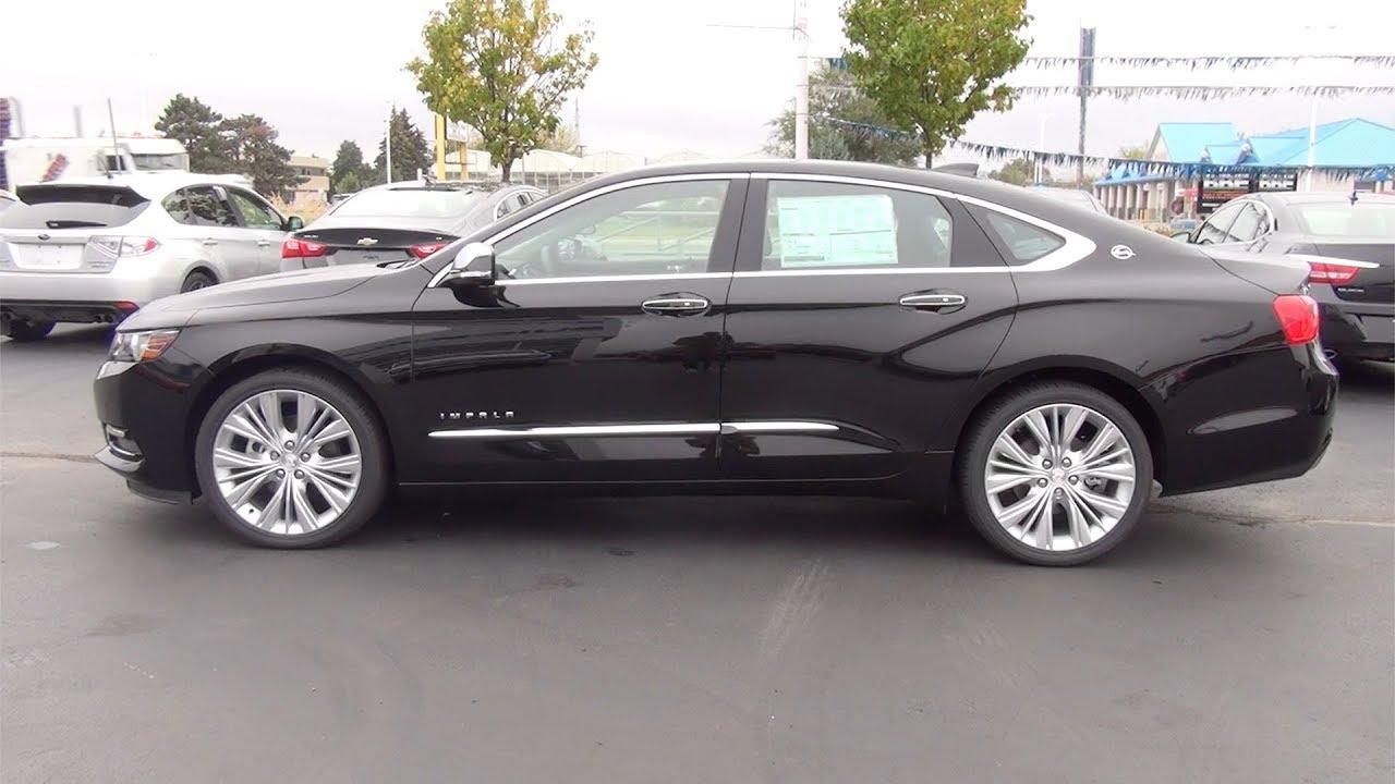 2018 Chevrolet Impala Premier Mosaic Black