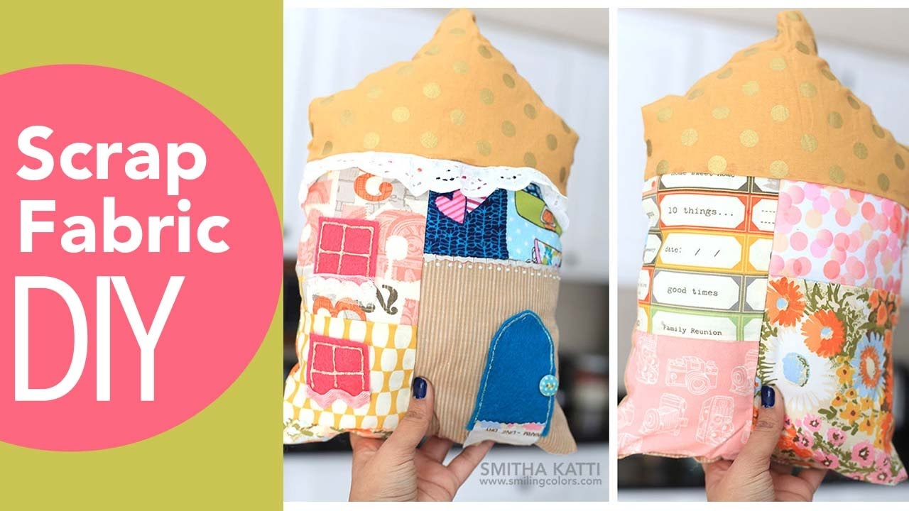 Scrap Fabric DIY Stash Busting Projects No Sew