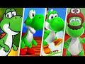 Super Mario Evolution of Yoshi (1990 - 2017)