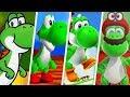 Super Mario Evolution of Yoshi (1990 - 2017)