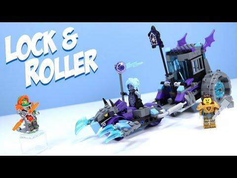LEGO NEXO Knights Ruina's Lock & Roller With Queen Halbert