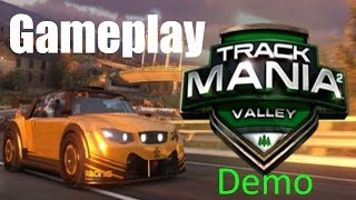 ( Trackmania 2 Valley Demo / Gameplay / PC )