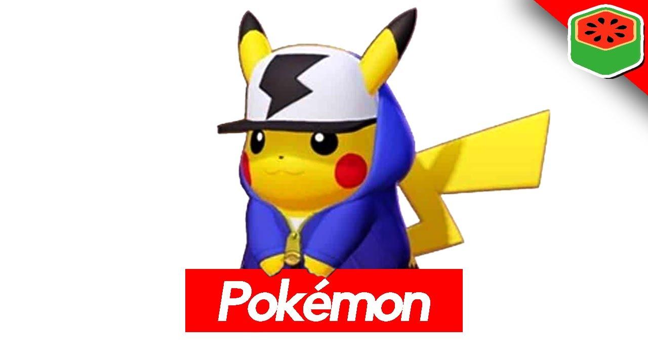 Pikachu Drip x Pokemon Unite