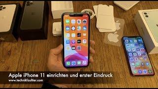 Apple iPhone 11 einrichten und erster Eindruck